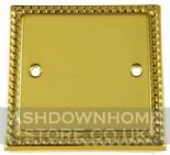 Monarch Roped Polished Brass Blanking Plates